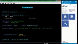 Connect Dokumentenzugriff aus AS400 bzw. iSeries basierten Systemen, Screenshot