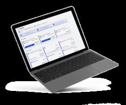 Spesenabrechnung übersichtliche to Do Liste mit allen Abrechnungen, Vorschau der Webansicht