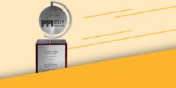 Banner PPI Award 2020 für Digitalization und Internet of Things