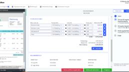 Automatisiertes Auslesen der Rechnungsdaten, Vorschau der smart INVOICE Ansicht