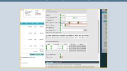 Überprüfung der Rechnungsmerkmale und Warnung bei Abweichung, Vorschau