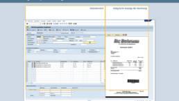 Vorschau Eingangsrechnung mit SAP, Rechnungsdaten prüfen und ergänzen