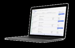 Vorschau smartWorkflow Aufgabenliste im Freigabeprozess am Laptop