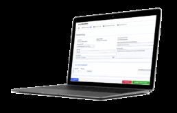 Vorschau smartWorkflow Reiseanträge digital stellen am Laptop